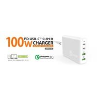 J5create JUP44100 100W 4-Port PD USB-C™ Super Charger