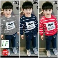 Baju Setelan Anak Laki Laki 3 - 5 Tahun / Stelan anak lengan panjang