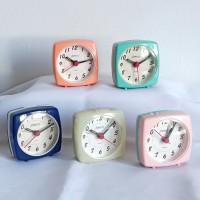Jam Weker Mini Beep Acending Alarm Block and Candy Colours - SC 1101