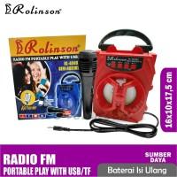 Speaker bluetooth Rolinson KARAOKE With USB RL 4049 BT Seri 4081