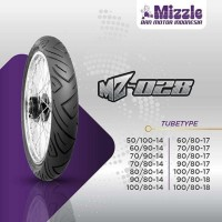BAN LUAR MOTOR MIZZLE MZ028 90/80-17 TUBETYPE