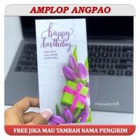 AMPLOP ANGPAO ULANG TAHUN / BIRTHDAY MODEL PANJANG