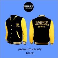 [Pre Order] Jaket Varsity Unpad Warna Kuning [Unisex]