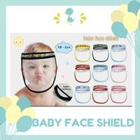 Face Shield Bayi Lembut Newborn - 2 tahun