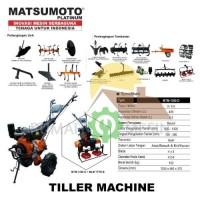 Cultivator Mini Tiller Alat Bajak Mini Matsumoto MTM 1350
