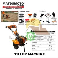 Cultivator Mini Tiller Alat Bajak Mini Matsumoto MTM 1050