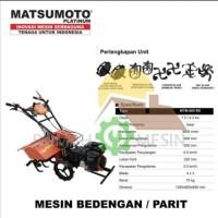 Cultivator Mini Tiller Alat Bajak Mini Matsumoto MTM 1380