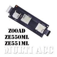 FLEXIBEL ASUS ZENFONE 2 5,5 ZE550ML ZE551ML Z00AD KONEKTOR SIMCARD MMC