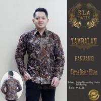Baju Batik Pria Lengan Panjang-Kemeja batik-baju batik-size M-XXL