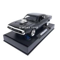 Diecast Mobil Dodge Charge Fast Furious Dom Miniatur Mobilan Murah