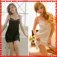 Sexy Lingerie Jumbo Baju Tidur Wanita Seksi Plus Size Floe