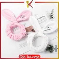 SK-C67-70 Bandana Masker / Bando Mandi Facial Headband Hairband Korea