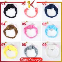 SK-C67-70 Bandana Masker / Bando Mandi Facial Headband Hairband Korea - Bando C67, 02