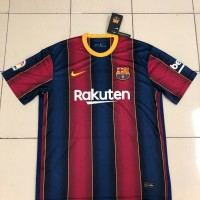 Jersey Kaos Baju Bola Barca Home Big Size Jumbo XXXL 3XL New 2020 2021