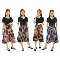 Celana Pendek Kasual Dirs Kulot Jumbo Shortpant Batik Wanita