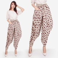 Celana Panjang Tutry Longpant Aladin Kulot Batik Wanita
