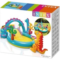 Kolam INTEX dinoland play center - 57135 Kolam Renang Mandi Bola Anak