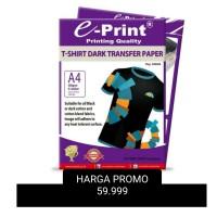 HARGA PROMO TRANSFER PAPER DARK EPRINT E-PRINT GELAP A4