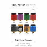 RDA ARTHA V1.5 24MM CLONE TOP QUALITY BUILD BEST CLONE RDA CLONE 1:1