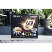 Gigabyte B250M-D2V Mainboard LGA 1151 Intel Gen 7/8th 2ND BEKAS