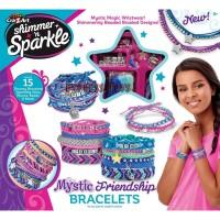 Cra-Z-Art Shimmer N Sparkle Mystic Friendship Bracelet Kit Crazart