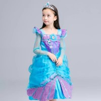 Baju Pesta Ulang Tahun Putri Duyung Mermaid Dress Princess Ariel CG85