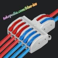 quick connect terminal block penggabung pembagi kabel mudah