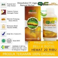 Obat Herbal QnC Jelly Gamat Asli 100% Original GnC QnG Jelli Jely Jeli