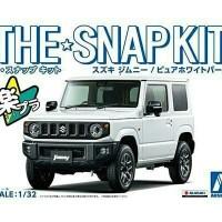 Aoshima snap kit jimny white