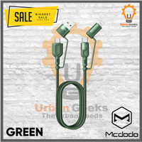 Mcdodo Multifungsi PD Kabel Data 60W Fast Charge AFC QC 2input/output - Hijau