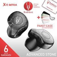 SABBAT X12 Ultra Marble Series Advance Stone AptX QC Bluetooth 5.0 TWS