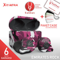 SABBAT X12 Ultra Camo Emirates Rock AptX Qualcomm Bluetooth 5.0 TWS