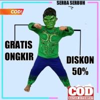 baju hulk anak kostum dan topeng baju karakter anak baju superhero 256