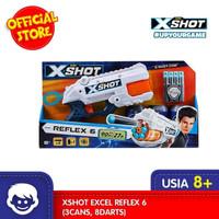 Mainan Blaster XSHOT Excel Reflex 6 (3Cans,8Darts)