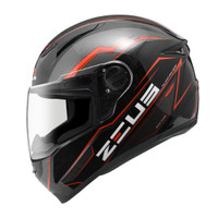 Helm ZEUS ZS811 Z811 Z-811 BLACK AL12 BLACK RED