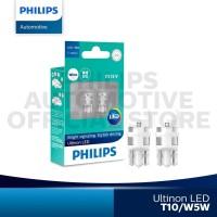 Philips Ultinon LED T10/W5W Lampu Senja Mobil