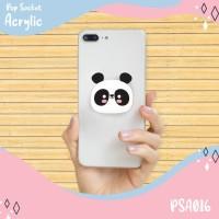 Pop Socket Akrilik Panda