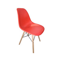 Kursi Ragna Atria Chair White - Merah
