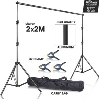 Background Stand Foto Studio - Tiang Backdrop/Background - Hanging Rod