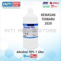 ONEMED - Alkohol 70% 1 liter / Alkohol Antiseptik
