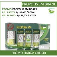 Propolis SM Brazilian Golden 100% Original & Berkualitas