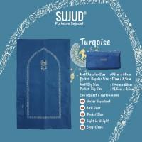 Sajadah SUJUD Turqoise | Portable Pocketsize Travel
