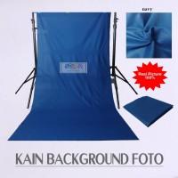 Background Foto Studio Kain Polos Meteran - Biru Navy
