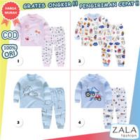 ZF13 BAJU SETELAN ANAK / BAYI | 6 - 12 BULAN | IMPORT | #1 - 2. Baby city