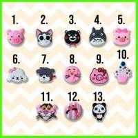 Popsocket 3d 4d Pig Cat Totoro Pinkphanter Panda Icecreem Dog