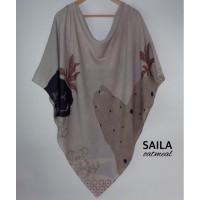 Hijab / Jilbab / Kerudung Syar'i Voal Motif Printing Segi Empat Seri 3