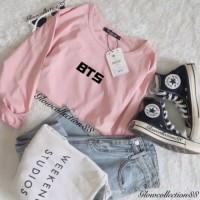 Tumbrl Tee LongSleeve BTS baju Lengan Panjang kaos Wanita Murah