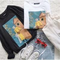 Tumbrl Tee LongSleeve Fathimah kaos Lengan Panjang baju Wanita