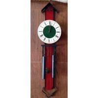 Jam Antik Eropa Orfac FHS Hermle bandul 2 buatan Jerman