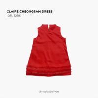 Hey Baby Claire Cheongsam Dress